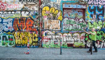 IF Paris Street Graffiti