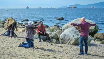 IF rehearsing on English Bay